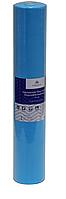 Голубая простынь одноразовая на кушетку или массажный стол в рулоне (спандбонд) Monaco Style 0,6х100 м, пл 20