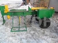 Дровокол, для брёвнен: d-500-800-1100 мм.; h=250-500 мм.; Усилие- 12 тонн