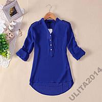 Блузы Синие*