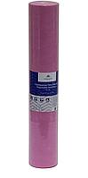 Розовая простынь одноразовая в рулоне (спандбонд) перфорированная Monaco Style 0,6 м (50 шт.), пл 20