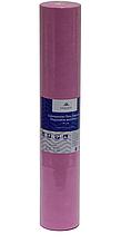 Розовая простынь одноразовая на кушетку или массажный стол в рулоне (спандбонд) Monaco Style 0,6х100 м, пл 20