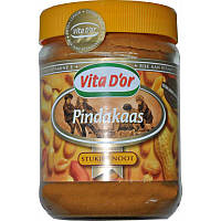 Арахисовая паста Vita D'or Pindakaas с кусочками арахиса (600 гр.)