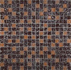 Мозаика Grand Kerama 300x300 коричневый колотый-бежевый колотый 451