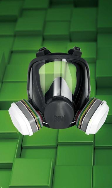 Полумаски и полнолицевые маски 3м