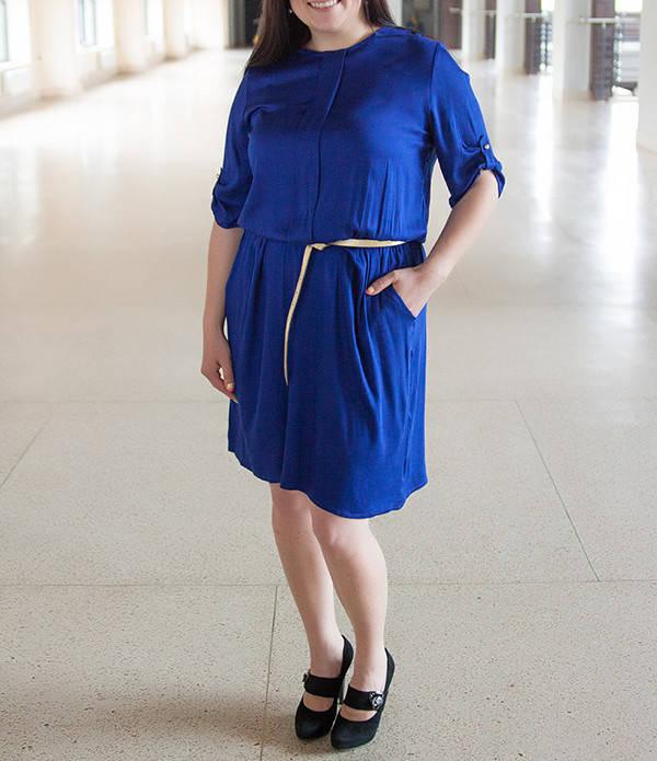 """Стильное яркое платье """"Арни"""" до 60 размера, разные цвета!"""
