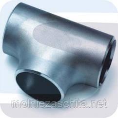 Тройник стальной приварной ГОСТ 17376-83 Дн 133