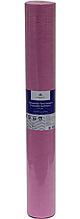Розовая простынь одноразовая на кушетку или массажный стол в рулоне (спандбонд) Monaco Style 0,8х100 м, пл 20
