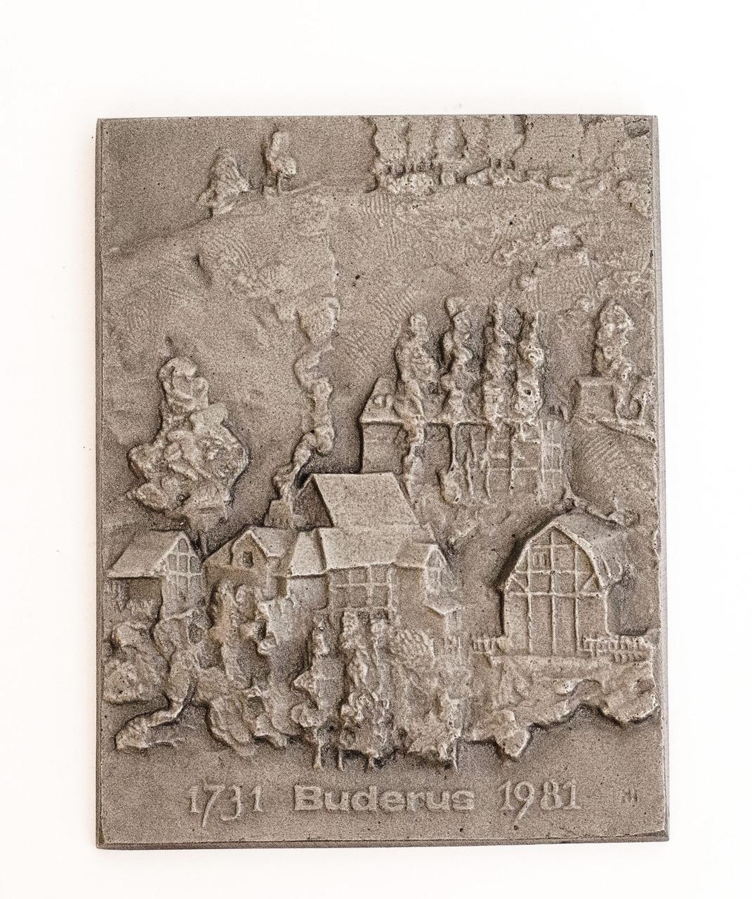 Оригинальное настенное панно, настенный барельеф, декор, Buderus, Германия
