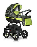 Детская коляска Verdi Pepe Eco 3 в 1 (01 Green Dots), фото 1
