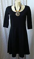 Платье черное стильное мини Esmara р.42-44 6856
