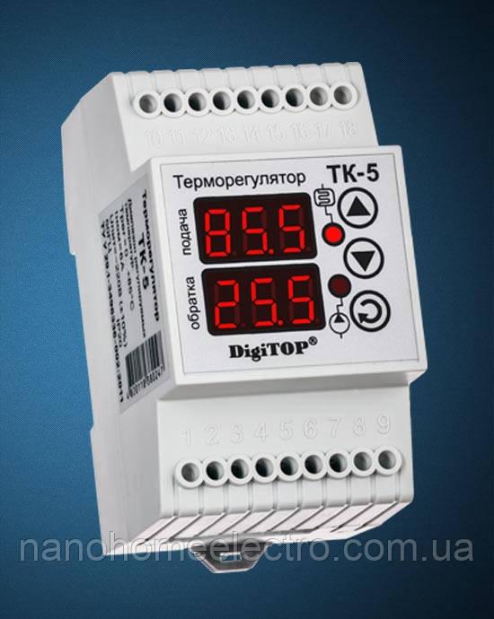 Терморегулятор ТК-5B (Двухканальный) (DidiTOP)