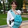 Рюкзак - переноска sling Эрго рюкзак  Лав & Кері Dlight из шарфовой ткани - Звезды Бавовна 100% слинг