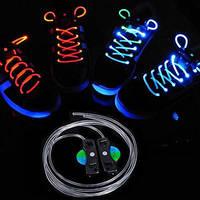 Светящиеся неоновые LED шнурки для кроссовок для вечеринок, клубов и дискотек