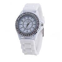 Женские наручные часы Geneva BWSB02 белые, фото 1