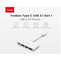 Кабель (переходник) Yoobao USB 3.1 GEN1 HUB-TYPE C