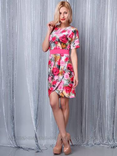 Платье женское принт