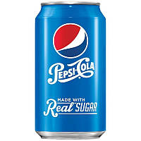 Pepsi-Cola Real sugar (355 мл.) США, фото 1