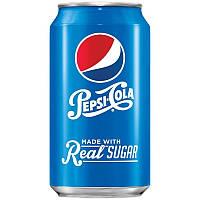 Pepsi-Cola Real sugar (355 мл.) США, фото 1