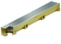 Канал ACO Self Euroline с решеткой оцинкованной и отводом DN=100 мм