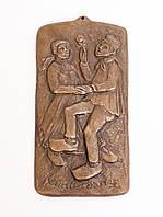 Настенное бронзовое панно, барельеф, Kunterdanz, бронза, бронзовая свадьба