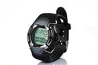 Водонепроницаемые часы с пульсометром для занятий спортом