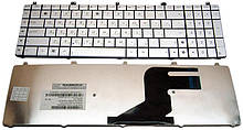 Клавиатура для ноутбука ASUS (N55, N75, X5QS) rus, silver (N55 version)