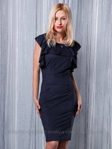 Платье женское рюши