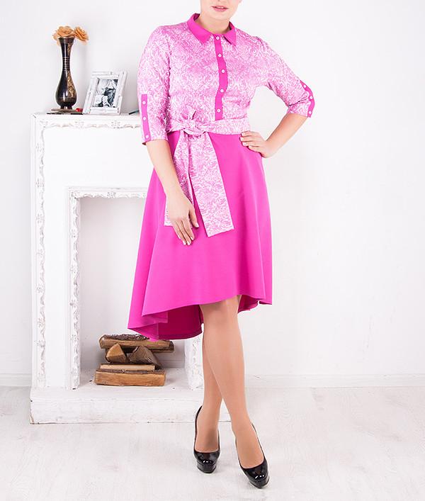 """Стильное женское платье """"Лиззи"""" большого размера от 46 до 62"""