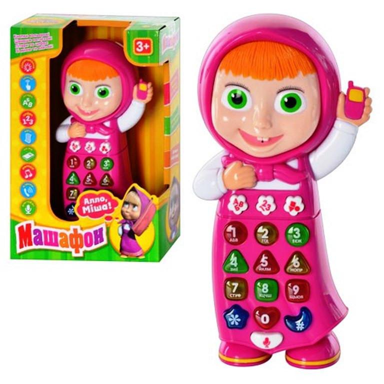 Интерактивный телефон Машафон 1598 U I