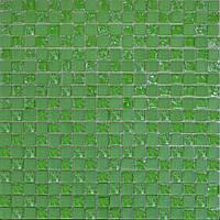 Мозаика Grand Kerama 300x300 шахматка зеленый матовый-зеленый колотый 485