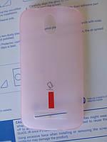Силиконовый чехол для HTC Desire 500 +плёнка