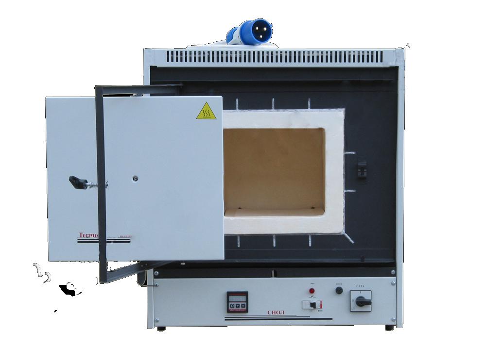 Муфельная лабораторная печь СНОЛ - 15/900 (микропроц./керамика)