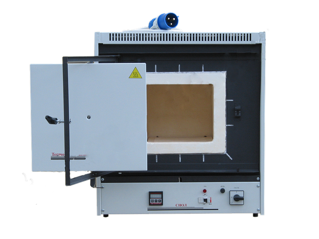 Муфельная лабораторная печь СНОЛ - 15/900 (микропроц./керамика), фото 2