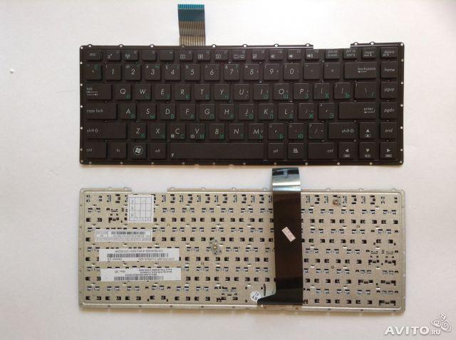 Клавиатура для ноутбука ASUS (X401 series) rus, black, без фрейма