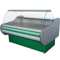 Морозильная витрина Айстермо ВХН АРКТИКА 1.6 (-15...-18°С, 1600х1160х1250 мм, гнутое стекло)