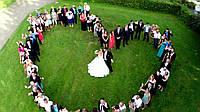 Фото-, видеосъемка свадьбы + съемка с воздуха