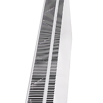 Конвекторный панельный обогреватель DIMOL Steel 01 с программатором, 1000 Вт металлический, фото 3
