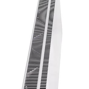 Конвекторная панель DIMOL Steel 01 с терморегулятором, 1000 Вт металлический, фото 2