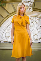 Платье женское бант
