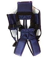 Рюкзак кенгуру переноска сидя, для детей с трехмесячного возраста, Синий