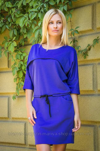 Платье женское с поясом