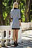 Платье женское гусиная лапка с карманами, фото 2