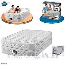 Двухспальная надувная кровать INTEX Supreme Air-Flow Bed 64464, фото 3