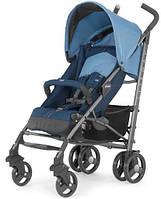 Прогулочная коляска Chicco Lite Way с бампером Top Blue 79547.80