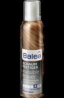 Пена для укладки волос экстра сильной фиксации Balea Schaumfestiger Invisible Power- Невидимая сила