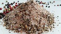 Антицеллюлитный, разогревающий скраб для тела, с минералами  гималайской соли и перцем. 500г.