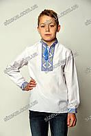 Детская Вышиванка Майкл синяя