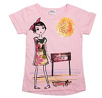 Модні футболки для дівчинки