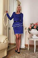 Платье женское баска + ресень