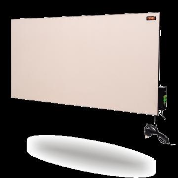 Керамическая панель DIMOL Mini 01 с терморегулятором (кремовая, графитовая), 270 Вт, фото 2